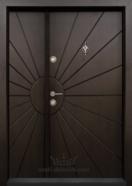 Ednokrila vhodna vrata T 109 tsvyat Tamen oreh