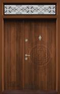 Ednokrila vhodna vrata T 110 tsvyat Zlaten dab