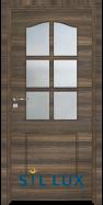Интериорна врата Sil Lux 3002 Райски орех