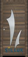 Интериорна врата Sil Lux 3014 Райски орех