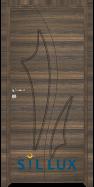 Интериорна врата Sil Lux 3014P Райски орех