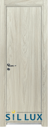 Алуминиева врата за баня Sil Lux, цвят Избелен дъб