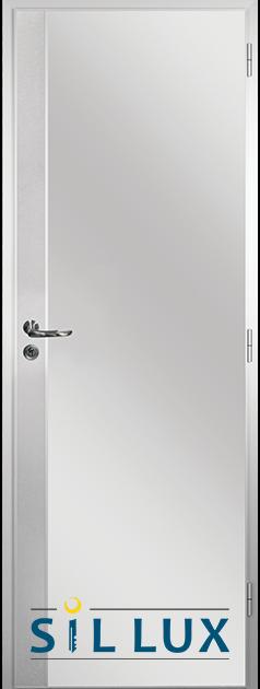 Алуминиева врата за баня Sil Lux, Метал