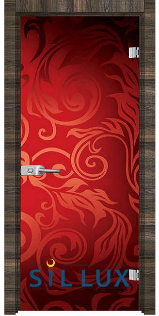 Стъклена интериорна врата Print G 13 11 E