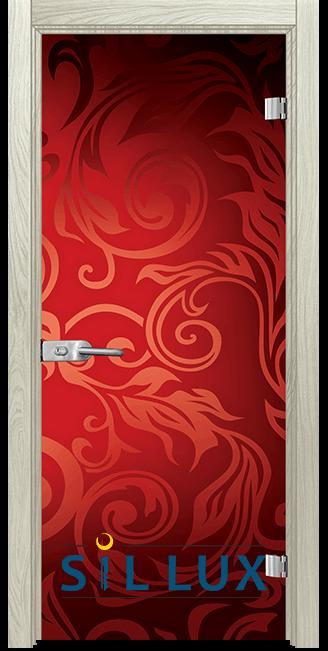 Стъклена интериорна врата Print G 13 11 I