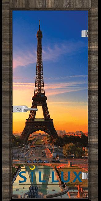 Стъклена интериорна врата Print G 13 12 E