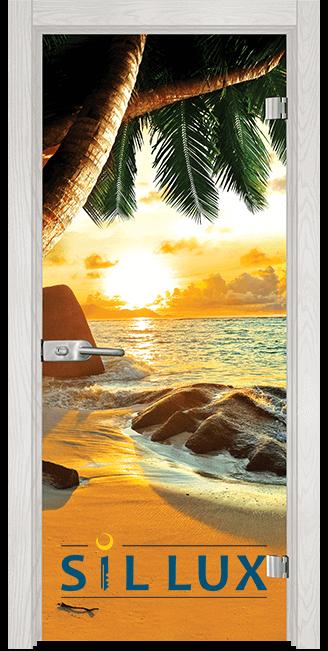 Стъклена интериорна врата Print G 13 14 F