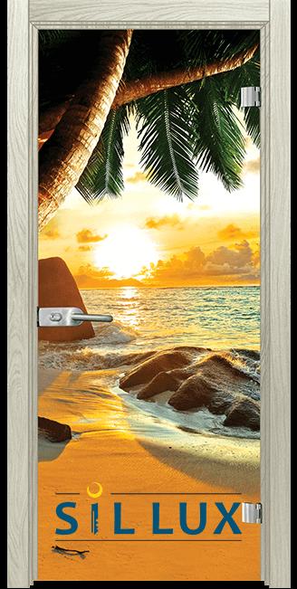 Стъклена интериорна врата Print G 13 14 I