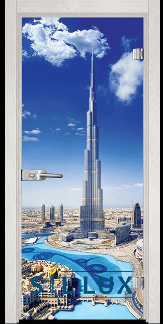 Стъклена интериорна врата Print G 13 16 F