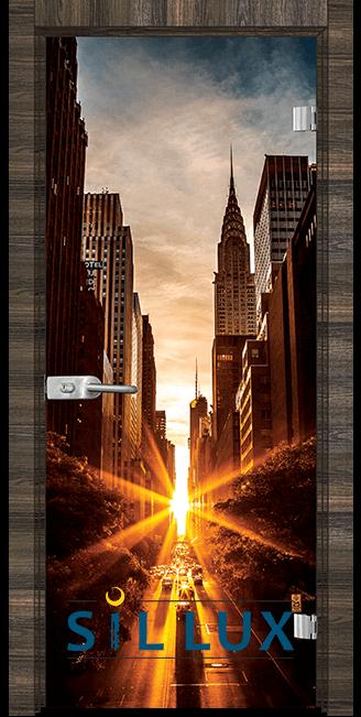 Стъклена интериорна врата Print G 13 18 E
