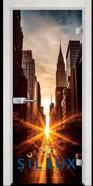 Стъклена интериорна врата Print G 13 18 F