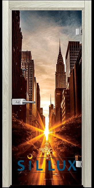Стъклена интериорна врата Print G 13 18 I