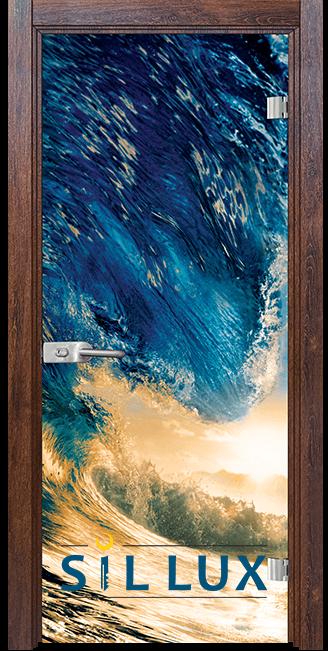 Стъклена интериорна врата Print G 13 19 Q