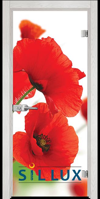 Стъклена интериорна врата Print G 13 8 F