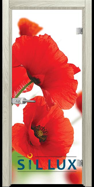 Стъклена интериорна врата Print G 13 8 I