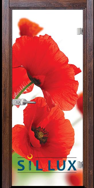 Стъклена интериорна врата Print G 13 8 Q